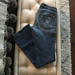 """7 for all mankind """"A Pocket"""" style - size 27"""